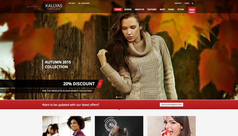 Kallyas Template - HTML Version